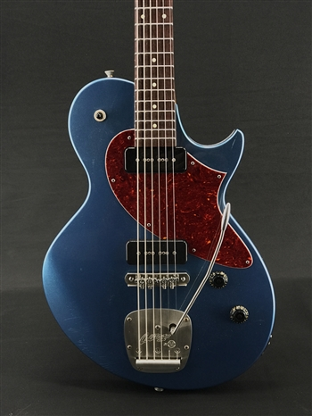 Collings 360 Baritone in Aged Pelham Blue