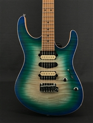 Suhr Modern Satin Flame Limited Edition in Island Burst