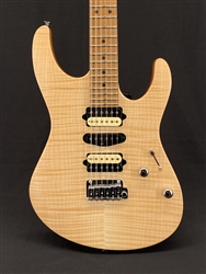 Suhr Modern Satin Flame Limited Edition in Natural