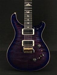 PRS Custom 24-08 in Violet Blueburst with Flame Maple 10-Top