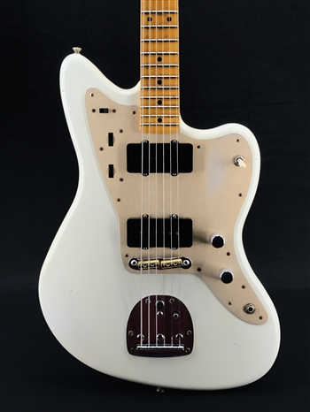Fender Custom Shop Vintage Custom Relic 58 Jazzmaster in Aged Olympic White