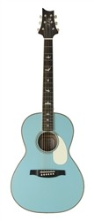PRS SE P20E Parlor Acoustic-Electric in Powder Blue