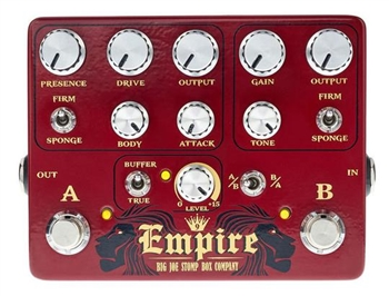 Big Joe B-502 Empire Dual Overdrive Pedal