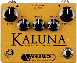 Vahlbruch FX Kaluna High Voltage Tube Drive Pedal with High Gain MOD