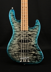 Sadowsky Metroline 2020 Limited Edition 21 Fret Standard J 4-String in Whale Blue Transparent Satin