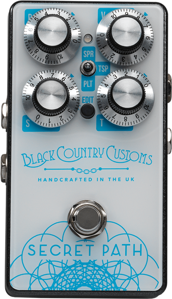 Black Country Customs Secret Path Reverb Pedal