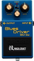 Boss Waza Craft BD-2W Blues Driver Overdrive Pedal