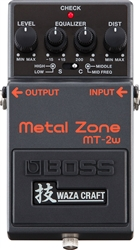 Boss Waza Craft MT-2W Metal Zone Distortion Pedal