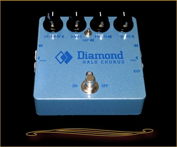 Diamond Halo Chorus Pedal at The Guitar Sanctuary McKinney Texas