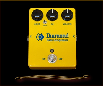 Diamond Bass Compressor Pedal at The Guitar Sanctuary, McKinney Texas