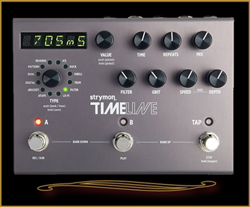 Strymon Timeline Delay Pedal at The Guitar Sanctuary