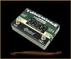 Radial PZ-Select piezo and magnetic pickup selector/DI at The Guitar Sanctuary McKinney Texas