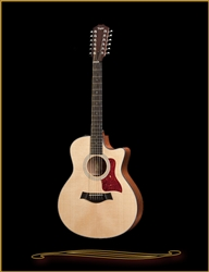 Taylor 356CE Grand Symphony Acoustic/Electric 12-String, Sapele/Sitka Spruce