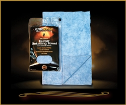 Music Nomad MN202 Microfiber Guitar Detailing Towel at The Guitar Sanctuary