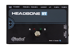 Radial Tonebone Headbone VT Tube Amp Switcher at The Guitar Sanctuary McKinney Texas