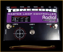 Radial Tonebone Loopbone Master Loop Controller at The Guitar Sanctuary McKinney Texas