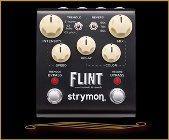 Strymon Flint Harmonic Tremolo and Reverb at The Guitar Sanctuary