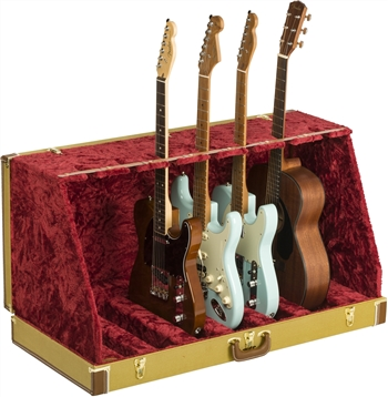 Fender Classic Series Case Stand - 7 Guitar in Tweed