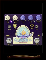 Analog Alien FuzzBubble 45 Fuzz and Overdrive Pedal at The Guitar Sanctuary McKinney Texas