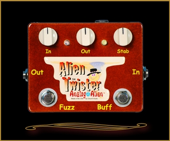 Analog Alien Alien Twister Fuzz Pedal at The Guitar Sanctuary McKinney Texas