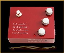 Klon KTR Overdrive Reissue Pedal at The Guitar Sanctuary McKinney Texas