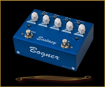 Bogner Ecstasy Blue Overdrive and Boost Pedal
