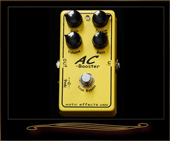 Xotic AC Booster Pedal