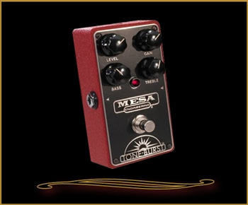 Mesa Boogie TONE-BURST Boost/Overdrive Pedal