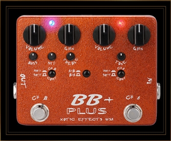 Xotic BB Plus 2 Channel Overdrive/Preamp Pedal