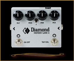 Diamond MLN-JR Memory Lane Junior Analog Delay Pedal at The Guitar Sanctuary McKinney Texas