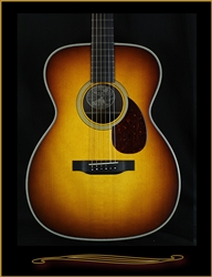 "Collings OM2HA Deep Body, with Sunburst Top and 1 3/4"" Nut Width at The Guitar Sanctuary McKinney Texas"