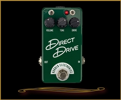 Barber Electronics Compact Direct Drive Overdrive Pedal at The Guitar Sanctuary McKinney Texas