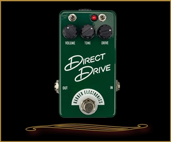 Barber Electronics Compact Direct Drive Overdrive Pedal
