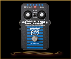 EBS MultiComp True Dual Band Analog Compressor