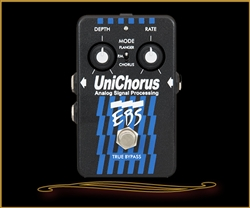 EBS UniChorus Analog Chorus Pedal at The Guitar Sanctuary McKinney Texas