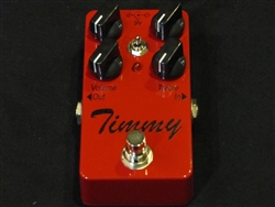 Paul Cochrane Timmy Overdrive Pedal Sanctuary Red at The Guitar Sanctuary McKinney Texas