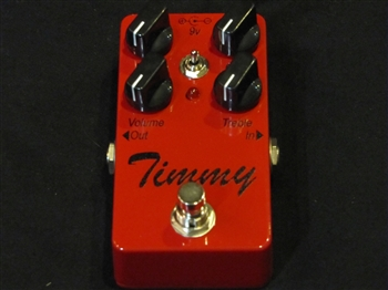 Paul Cochrane Timmy Overdrive Pedal Custom Sanctuary Red