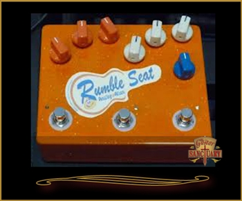 Analog Alien Rumble Seat Drive/Delay/Reverb Pedal