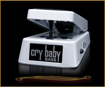 Dunlop 105Q Cry Baby Bass Wah Pedal at The Guitar Sanctuary McKinney Texas