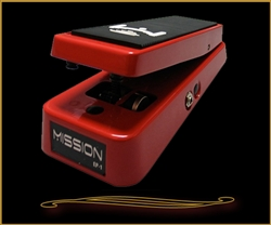 Mission Engineering EP-1-SL Expression Pedal in Red with Spring Return at The Guitar Sanctuary McKinney Texas