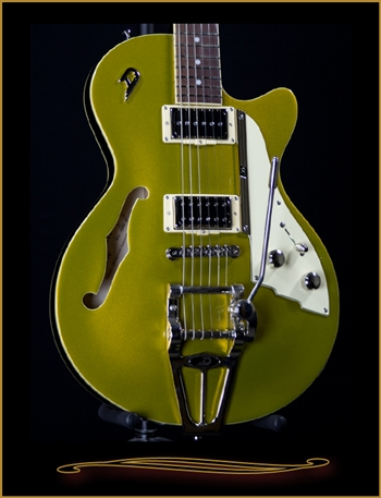 Duesenberg Starplayer TV Goldtop at The Guitar Sanctuary McKinney Texas