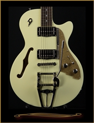 Duesenberg Starplayer TV Vintage White