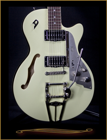 Duesenberg Starplayer TV Plus Vintage White at The Guitar Sanctuary McKinney Texas