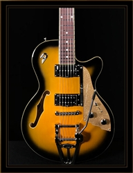 Duesenberg Starplayer TV in 2-Tone Sunburst