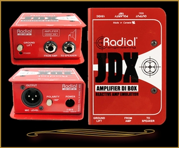 Radial JDX Reactor Guitar Amp Direct Box at The Guitar Sanctuary McKinney Texas