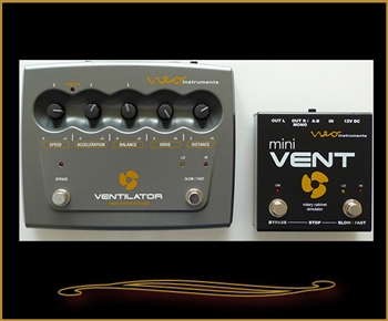 Neo Instruments mini VENT Rotary Cabinet Simulator for Guitar at The Guitar Sanctuary McKinney Texas