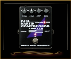 Carl Martin Compressor/Limiter Pedal at The Guitar Sanctuary