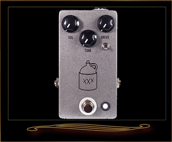 JHS Moonshine Overdrive Pedal at The Guitar Sanctuary McKinney Texas