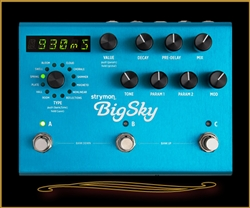 Strymon BigSky Multidimensional Reverb Pedal at The Guitar Sanctuary McKinney Texas
