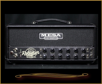 Mesa Boogie Recto-Verb 25 Head in Black with Black Grille